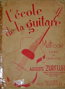 Méthode de guitare.